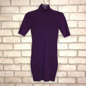Purple Bebe party dress